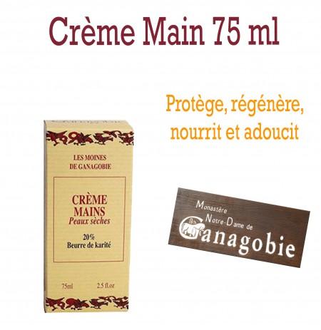 Crème mains au beurre de Karité 75ml