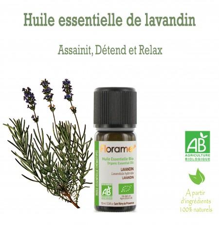 Huile essentielle Lavandin (Lavandula Hybrida) 10ml