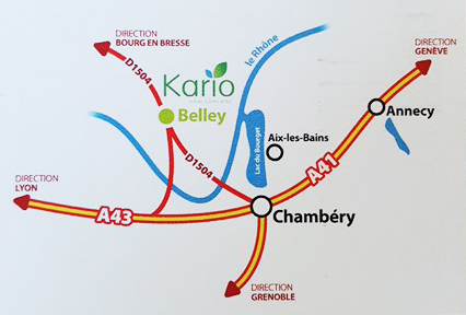 plan distillerie KARIO BELLEY