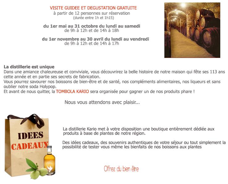 visitez la distillerie kario1