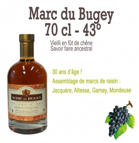 Marc du Bugey 70