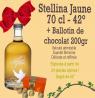 Stellina Jaune 70 cl et son ballotin au chocolat 200gr